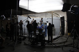 Movie set - Production Designer Linda Gasser