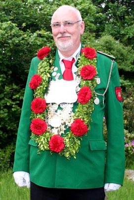 """Hauptkönig Ernst-August Knoop """"der fliegende Jubiläumskönig"""""""