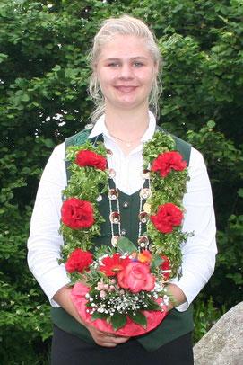 Schülerkönigin Greta Buchholz