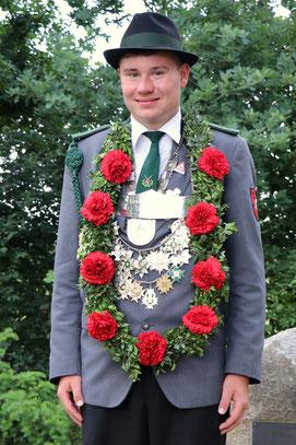 Jugendkönig Fabian Stradtmann