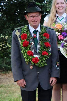 Seniorenkönig Erhard Dümmer