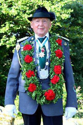 Seniorenkönig Bodo Hahn