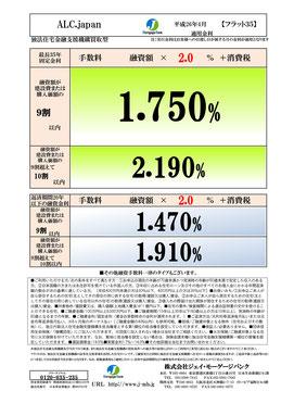 フラット35金利情報 2014年4月