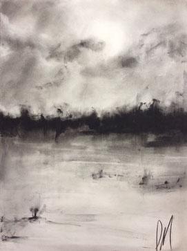 Winter Storm Field - James Marie