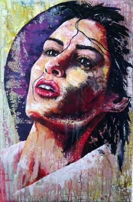 femme portrait, peinture portrait de femme, portrait acrylique, portrait femme acrylique, peinture visage, portraits femmes, portrait femme peinture moderne, portraits modernes peinture, portrait visage femme, portrait femme peinture contemporaine