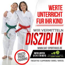 Thema März - Fachsportschule Friesoythe - Selbstverteidigung & Disziplin