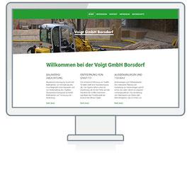 Website Referenz Voigtbau