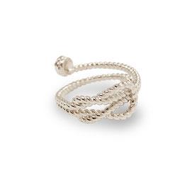 gioielli biancopunto jewels anello twine