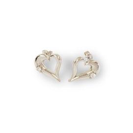 gioielli biancopunto jewels orecchini snow