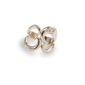 gioielli biancopunto jewels anello snow