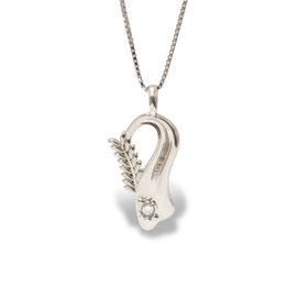 gioielli biancopunto jewels zodiaco segni zodiacali ciondolo vergine