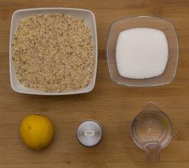 Nussfüllung, Haselnussfüllung Nussgipfel Nussschnecke, Nussschnecken, Hefenussgipfel Füllung selber machen Rezept