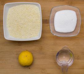 Mandelfüllung, Mandelgipfel Füllung selber machen Rezept