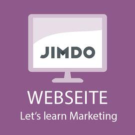 Webseite mit Jimdo
