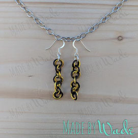 Team Mobiusmaille Earrings – perfect for local UCF fans!