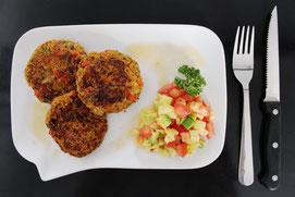 "Rezepte bei Eisenmangel: ""Vegane Frikadelle"" von Dr. Matthias Marquardt"