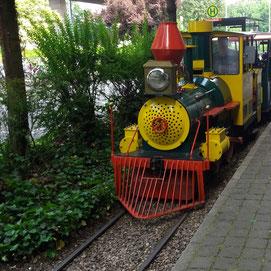 Lokomotive der Kleinbahn