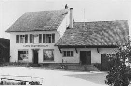 """Die """"Gnossi"""" vor dem Ladenumbau 1960"""