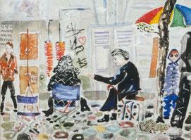 Conversation à Montmartre 1999