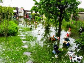 Hochwassergefahr am letzten Maiwochenende im Kreis Sömmerda
