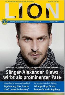 (c) Titelbild Lions Club Magazin/Foto (c) Det Kempke
