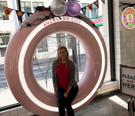 Auckland City donut