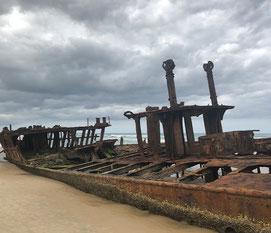 Scheepswrak Fraser Island