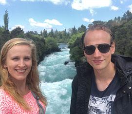 Huka Falls bij Taupo