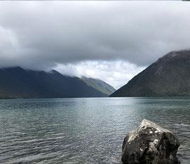 Nelson Lakes bewolking