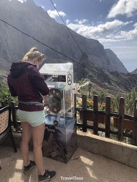 Penny Coin automaat op Tenerife