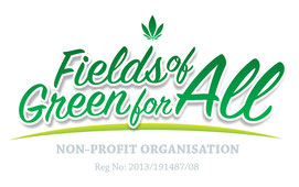 fields of green for all de sudafrica