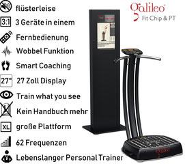 Vibrationsplatte Galileo Fit Chip PT, Vibrationstrainer, Galileo Training, gebraucht, kaufen, Preise, Preis, Test, Vertrieb: www.kaiserpower.com