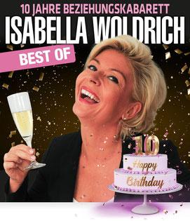 Isabella Woldrich best of 10 Jahre Beziehungskabarett Stadtgalerie Mödling