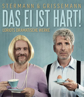 Stermann & Grissemann Das Ei ist hart Stadtgalerie Mödling