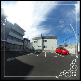 外観②駐車場↓360°画像によるバーチャル内覧はこちら。↓レジデンスパーク札幌北