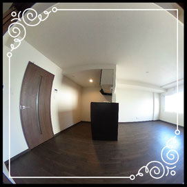 リビング⑤↓360°画像によるバーチャル内覧はこちら。↓グレースガーデンN30-203号室