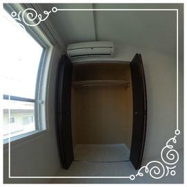 エアコン・収納↓パノラマで内覧体験できます。↓マンダリン北7条302号室-MandarinN7-302