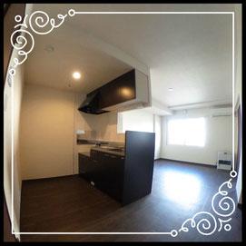キッチン②↓360°画像によるバーチャル内覧はこちら。↓グレースガーデンN30-203号室