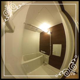 浴室①室内↓360°画像によるバーチャル内覧はこちら。↓グレースガーデンN30-202号室