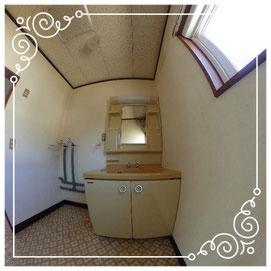 2階洗面所↓パノラマで内覧体験できます。↓