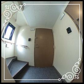 共用廊下↓360°画像によるバーチャル内覧はこちら。↓グレースガーデンN30-201号室