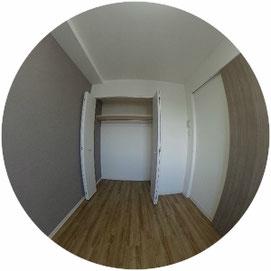 1314号室↓パノラマで内覧体験できます。↓クラークノルド-ClarkNord