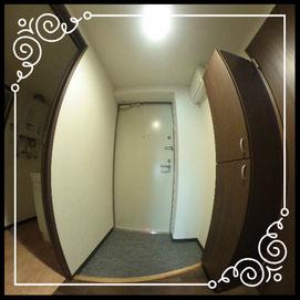 玄関②室内↓360°画像によるバーチャル内覧はこちら。↓グレースガーデンN30-202号室