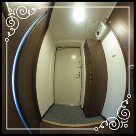 玄関↓360°画像によるバーチャル内覧はこちら。↓グレースガーデンN30-201号室