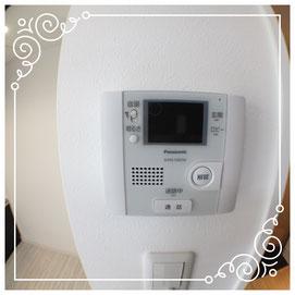 内装/TVインターフォン↓セントライズ402号室-CentRise-402