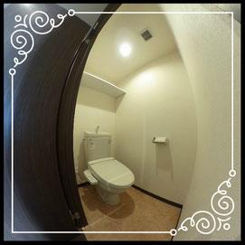 トイレ①室内↓360°画像によるバーチャル内覧はこちら。↓グレースガーデンN30-202号室