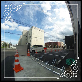 共用①駐輪場↓360°画像によるバーチャル内覧はこちら。↓グレースガーデンN30