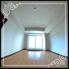 リビング①↓パノラマで内覧体験できます。↓D'グラフォート札幌ステーションタワー511号室
