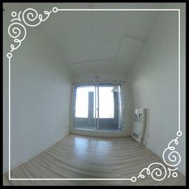 洋室①↓360°画像によるバーチャル内覧はこちら。↓レジデンスパーク札幌北