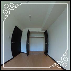 洋室①収納↓パノラマで内覧体験できます。↓D'グラフォート札幌ステーションタワー511号室